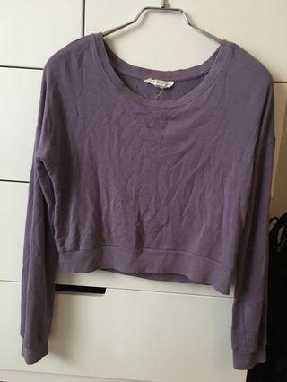 Purple long sleeve shirt from forever 21