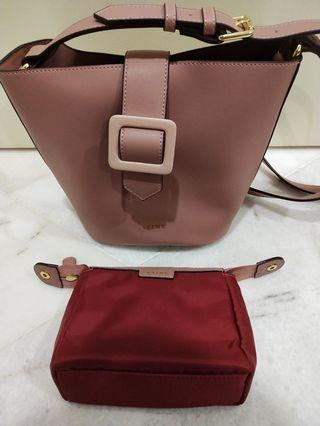 Authentic S'AIME Zoey Bucket Bag