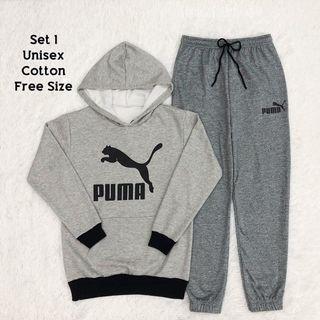set Joggerpants sweater hoodies Unisex puma