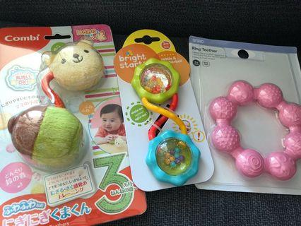 🚚 Baby rattle and teether bundle