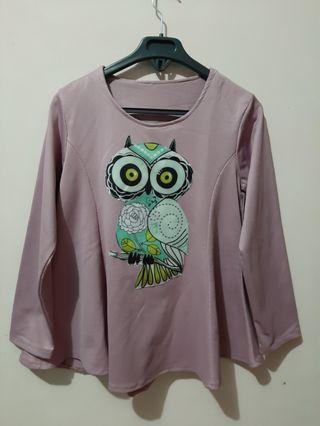 Blouse Dusty Owl