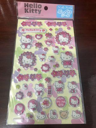 Hello Kitty 立體貼紙