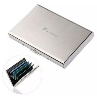 Foxnovo Ultra Thin Stainless Steel Wallets
