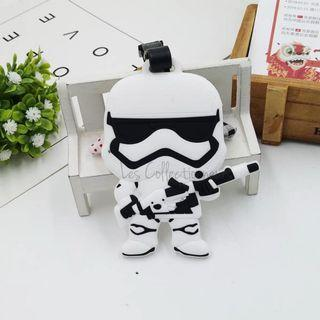Star Wars Series : Stormtrooper First Order Full Luggage Tag Bag Tags Name Tag