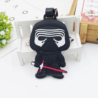 Star Wars Series : Kylo Ren Luggage Tag Bag Tags Name Tag