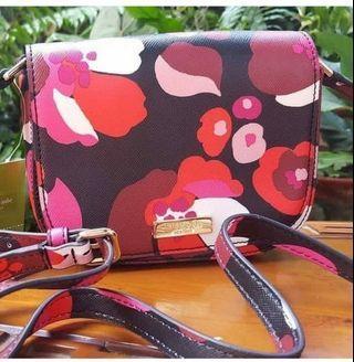 Kate spade floral crossbody sling bag original