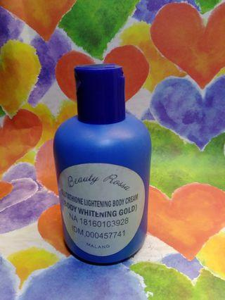 Beauty Rossa Glutathhione Lightening Body Cream share in jar 15gr (2521)
