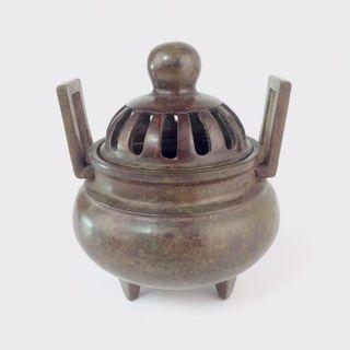 Bronze Incense Burner Antique