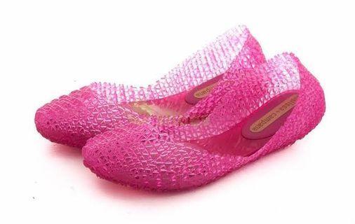 BNEW Auth Melissa Campana Papel flats women's shoes ladies ballet comfy jelly rainy days rain