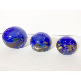 3 Pcs of Glass Ball Ornament (Display Set)
