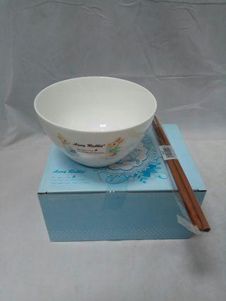 🚚 (台灣製)安妮兔6吋點心碗#半價居家拍賣會