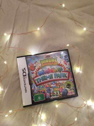 Moshi monster theme park DS game