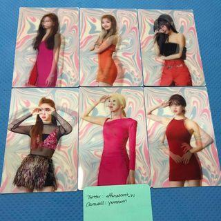Twice The 7th Mini Album Fancy You Official Lenticular Cards