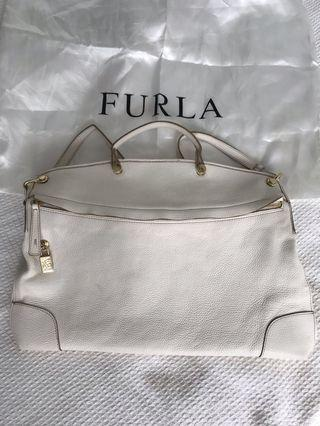 Furla piper calf leather large bag