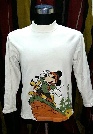 Mickey Mouse & Pluto Long Sleeves