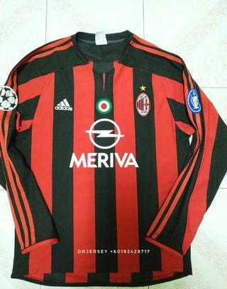 Ac Milan Jersey home kit 2003/04