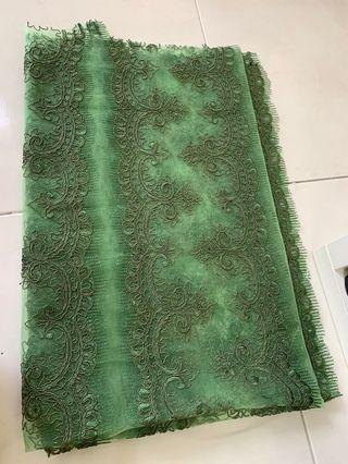 1 meter lace panel