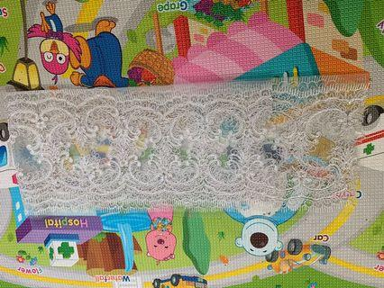 3 piece 1meter lace