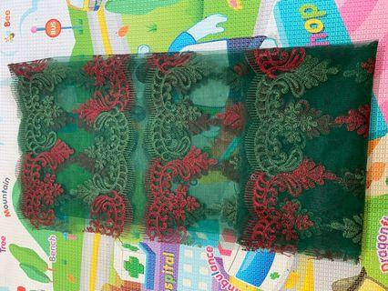 1meter lace panel