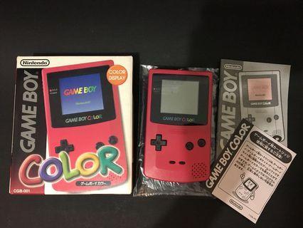 日本制造 Gameboy Color Made in japan