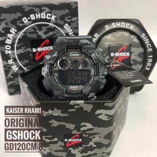Original Casio G-Shock GD120CM-8 Camouflage Series
