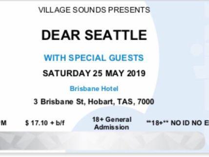 Dear Seattle VIC concert