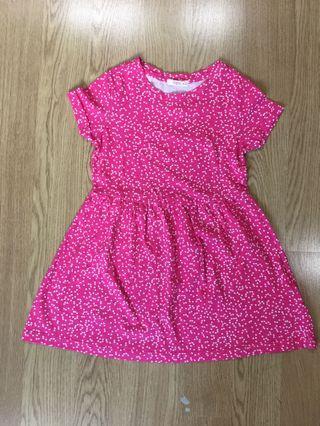 Fox kids polka dots Jersey Dress