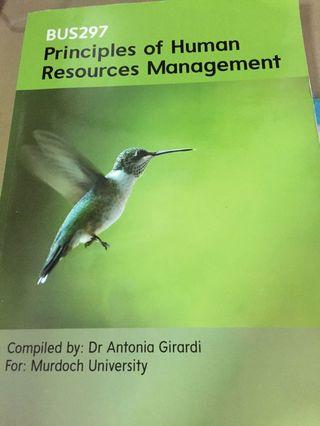 🚚 Murdoch Textbook - Principles of Human Resources Management