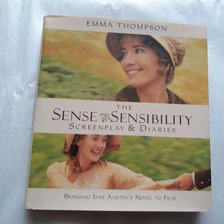 SENSE AND SENSIBILITY SCREENPLAY & DIARIES Bringing Jane, 1st Ed. Emma Thompson