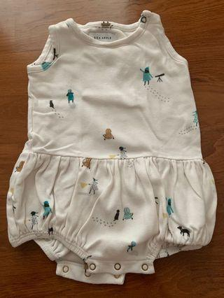 🚚 Sea apple romper