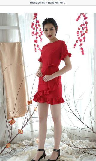 Dress Red size M