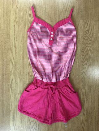 Fox kids Jersey pink Jumpsuit