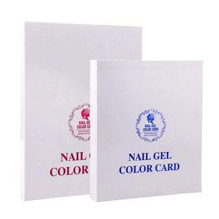 Nail Salon Luxury 308 Colours Gel Polish Color Card Paint Acrylic Display Chart