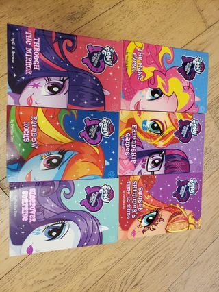 My Little Pony Equestria Girls Collection (6 Books)