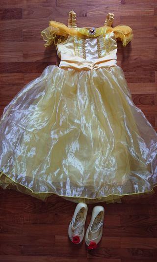 🚚 Princess Belle dress costume