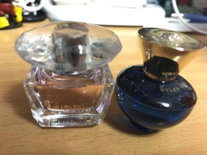 香水兩瓶(未使用但盒子已拆封)