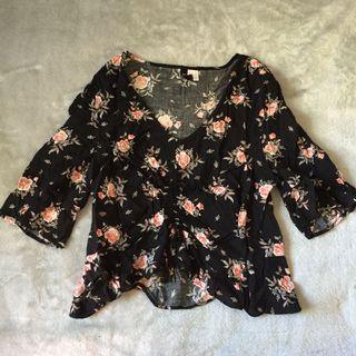 H$M top - size 10