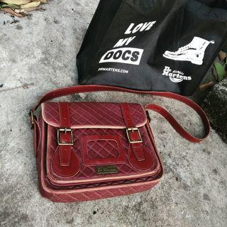 Dr martens Sling Bag Leather Red Cherry