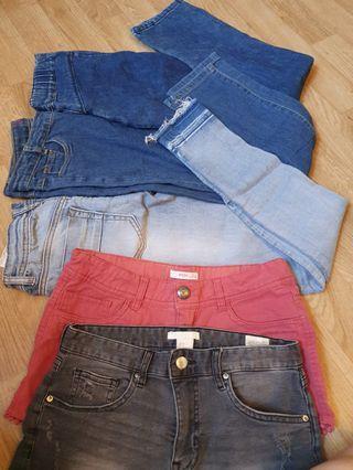 Denim Jeans & Shorts