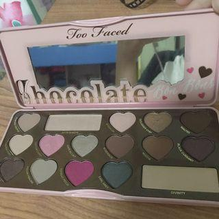 Authentic Too Faced Chocolate Bon Bons Palette