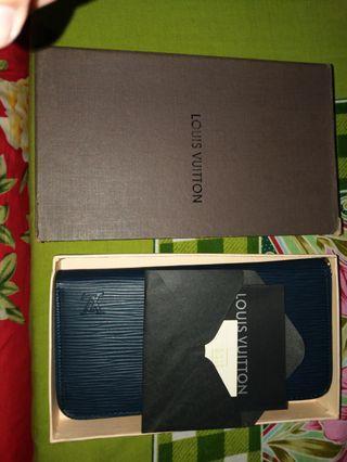 Dompet LV + Box + Card