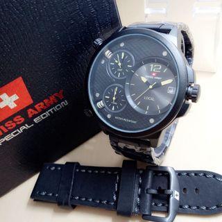Swiss Army Jam Tangan Pria Triple Time