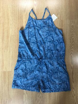 Fox Kids blue Denim jumpsuit