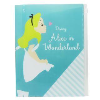 🇯🇵愛麗絲夢遊仙境 日本原裝正品 6+1 A4 Clear Folder dlf-dz-79888