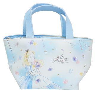 🇯🇵愛麗絲夢遊仙境 日本原裝正品 保冷袋 手提袋 飯盒袋 kmo-92659