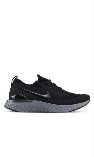 Nike Epic Flyknit React Triple Black Core