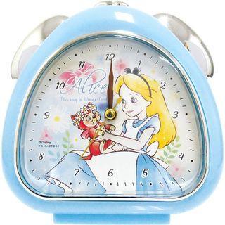 🇯🇵愛麗絲夢遊仙境 日本原裝正品 鬧鐘 時鐘 tsf-dn-5520178ac