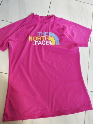 North Face pink top