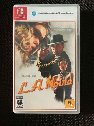 Nintendo switch L.A.Noire