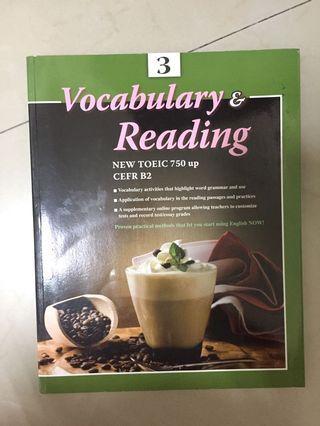 Vocabulary & Reading(大學教科書)